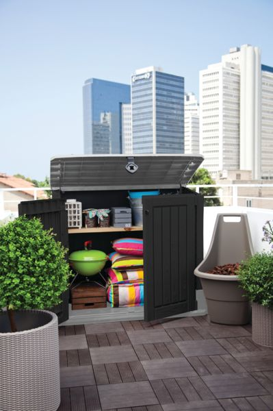 keter redskapsbod store it out midi 845 liter. Black Bedroom Furniture Sets. Home Design Ideas