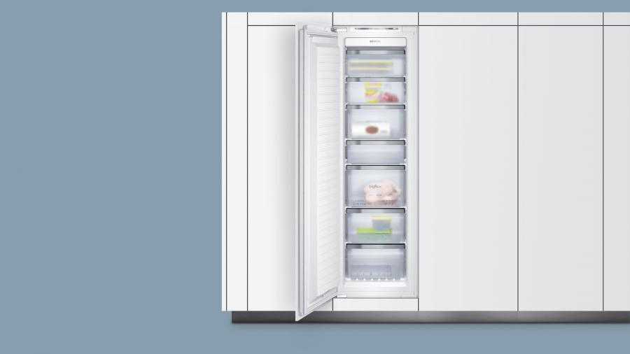 Ryddig Siemens fryseskap integrert 177,2 cm - Homestore.no FQ-38