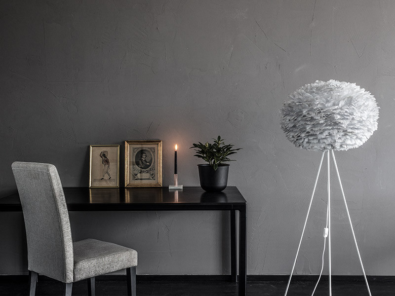 Unike Eos lampe lys grå Large - Homestore.no HL-33