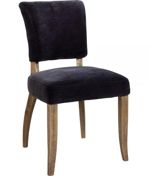 Fremragende Artwood MIMI spisestue-stol fløyel grafitte - Homestore.no LA03